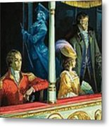 Ghost At The Theatre Metal Print by Andrew Howat