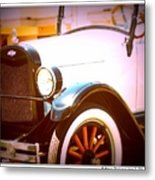 Ghost From The Past Metal Print by Bobbee Rickard