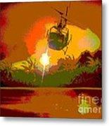 Ghost Huey Apocalypse  Metal Print by William Gruendler