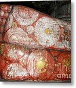 Giant Buddha Feet Metal Print by Jane Rix