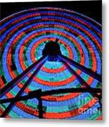 Giant Wheel Metal Print by Mark Miller