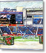 Gillette Holidays Metal Print by Dave Olsen
