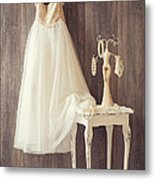 Girl's Bedroom Metal Print by Amanda Elwell