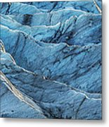 Glacier Blue Metal Print by Jon Glaser