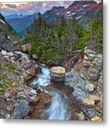 Glaciers Wild Metal Print by Darren  White