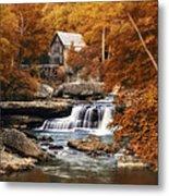 Glade Creek Mill Selective Focus Metal Print by Tom Mc Nemar
