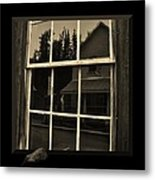 Glass Ghost Metal Print by Barbara St Jean