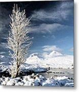Glencoe Winter Landscape Metal Print by Grant Glendinning