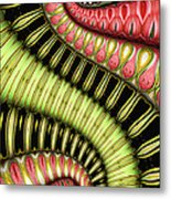 Glissando Metal Print by Wendy J St Christopher