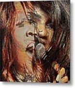Gloria Gaynor  Metal Print by Orfeu De SantaTeresa