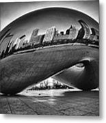 Glowing Bean Metal Print by Sebastian Musial