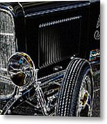 Glowing Deuce Metal Print by Steve McKinzie