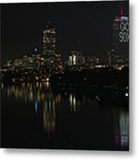 Go Sox Metal Print by Juergen Roth