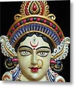Goddess Durga Metal Print by Sayali Mahajan