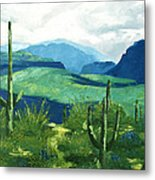 Gods Country Metal Print by Anthony Falbo