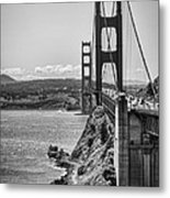 Going To San Francisco Metal Print by Heather Applegate