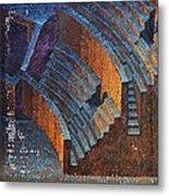 Gold Auditorium Metal Print by Mark Howard Jones