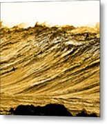 Gold Nugget Metal Print by Sean Davey
