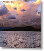 Golden Clouds Metal Print by    Michael Glenn