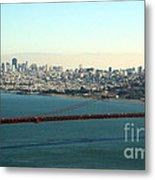Golden Gate Bridge Metal Print by Linda Woods