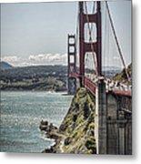Golden Gate Metal Print by Heather Applegate