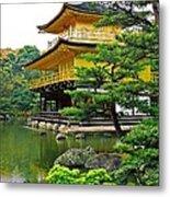 Golden Pavilion - Kyoto Metal Print by Juergen Weiss