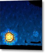 Good Night Sun Metal Print by Gianfranco Weiss