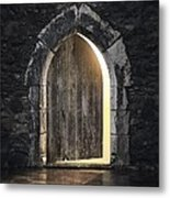 Gothic Light Metal Print by Carlos Caetano