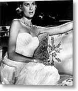 Grace Kelly Looking Gorgeous Metal Print by Retro Images Archive