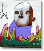 Graffiti Art Curitiba Brazil 17 Metal Print by Bob Christopher