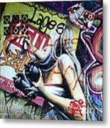 Grafitti Art Florianopolis Brazil 1 Metal Print by Bob Christopher