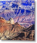 Grand Canyon And The Colorado River Metal Print by James Steele
