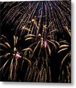 Grand Fireworks Metal Print by Chandru Murugan