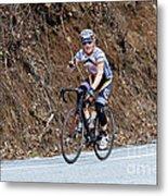 Grand Fondo Bike Ride Metal Print by Susan Leggett