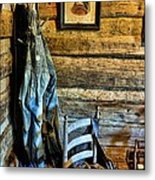 Grandpa's Closet Metal Print by Jan Amiss Photography