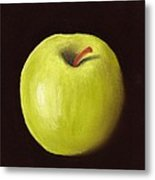 Granny Smith Apple Metal Print by Anastasiya Malakhova