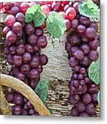 Grapes Metal Print by Tim Hightower