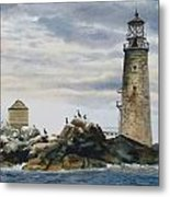 Graves Light House Metal Print by Karol Wyckoff
