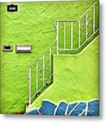 Green House  Metal Print by Julie Gebhardt