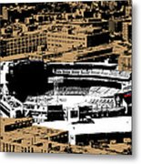 Green Monster Metal Print by Charlie Brock