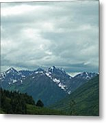 Green Pastures And Mountain Views Metal Print by Aimee L Maher Photography and Art Visit ALMGallerydotcom