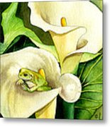 Green Peace Metal Print by Lyse Anthony