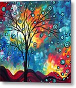 Greeting The Dawn By Madart Metal Print by Megan Duncanson