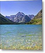 Grinnel Lake Glacier National Park Metal Print by Rich Franco