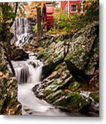 Grist Mill-bridgewater Connecticut Metal Print by Thomas Schoeller