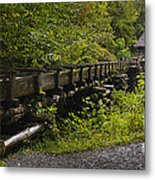 Grist Mill Metal Print by Cindy Tiefenbrunn
