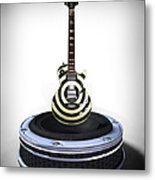 Guitar Desplay V2 Metal Print by Frederico Borges