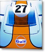 Gulf Ford Gt40 Metal Print by motography aka Phil Clark