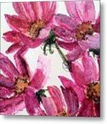 Gull Lake's Flowers Metal Print by Sherry Harradence