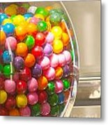 Gumball Machine Metal Print by Artist and Photographer Laura Wrede